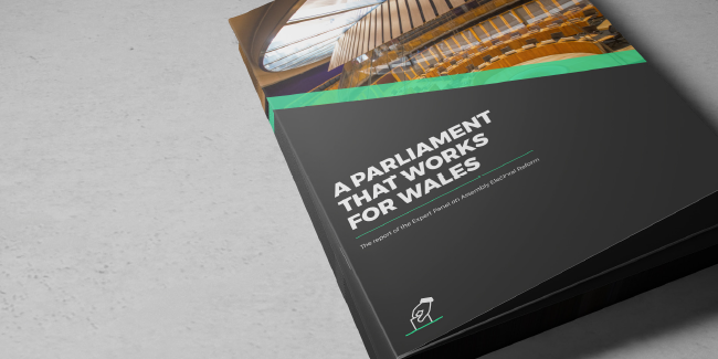 The Expert Panl on Electoral reform's report, 'A Parliament that works for Wales'